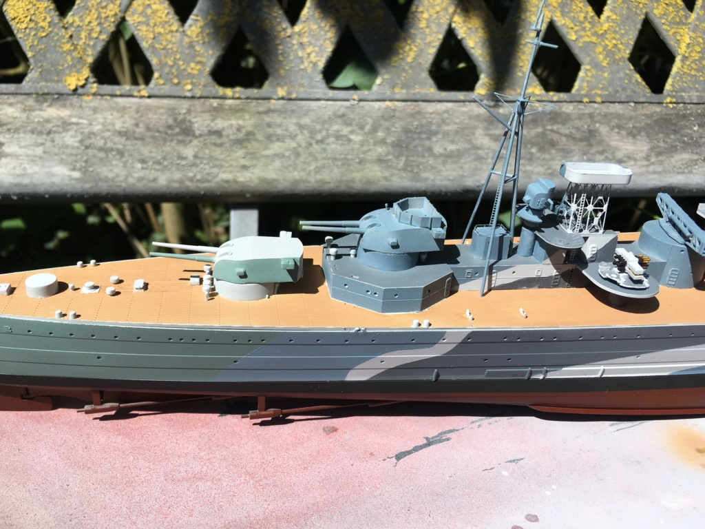 Croiseur lourd HMS Kent - 1/350 - Trumpeter - Eric78 - Page 2 71a43610