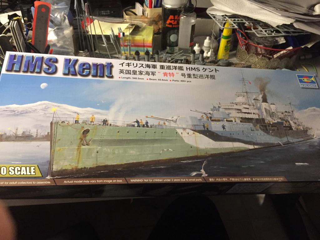 Croiseur lourd HMS Kent - 1/350 - Trumpeter - Eric78 721e8910