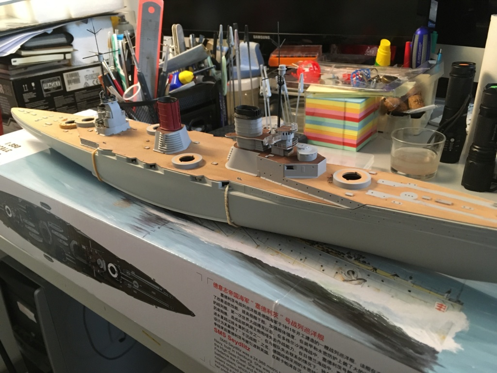 Croiseur de bataille SMS Seydlitz 1/350 Hobby Boss  - Page 2 7713ba10