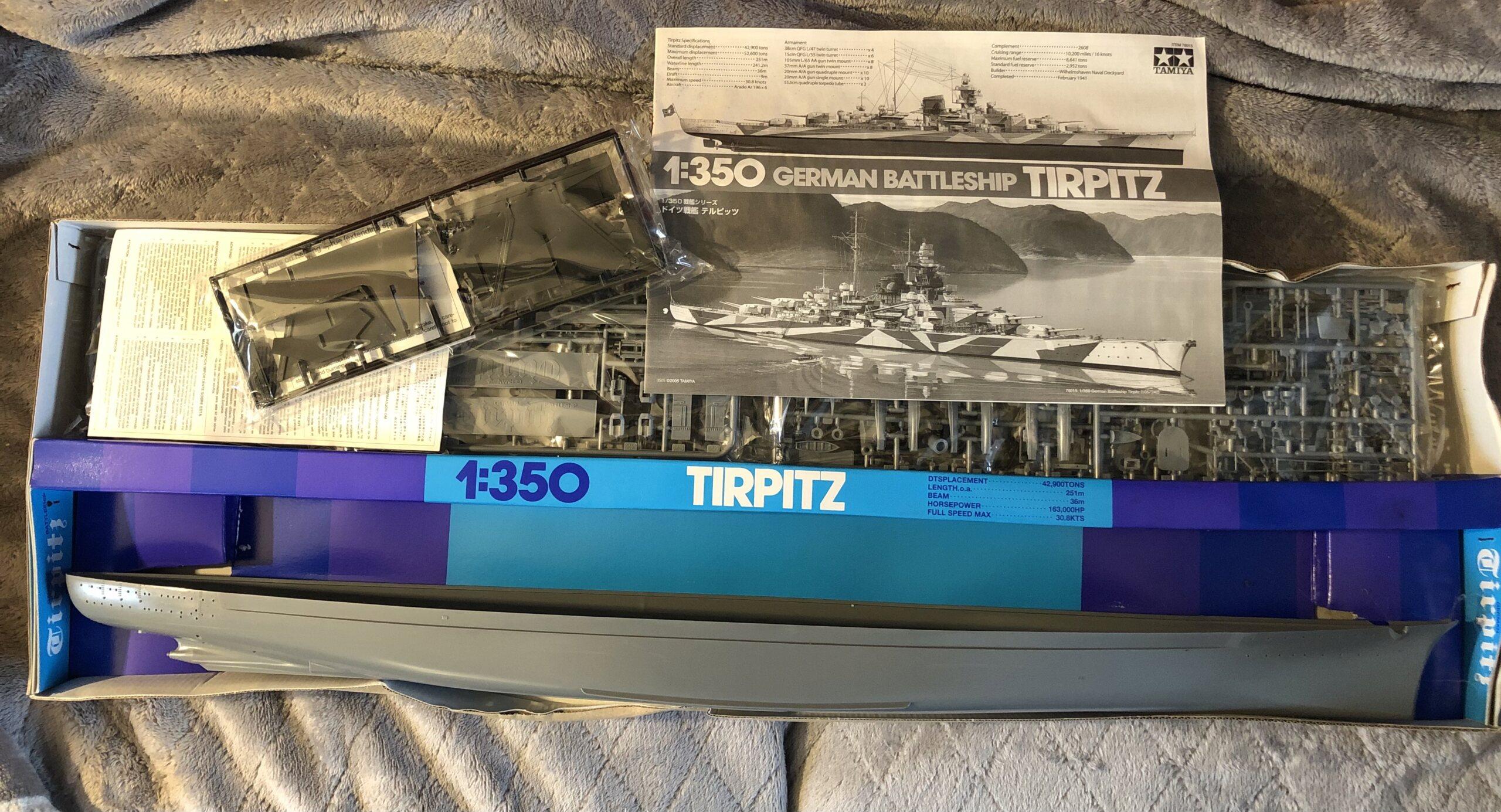 Tirpitz 1/350 Tamiya + eduard - Eric78 7b511d10