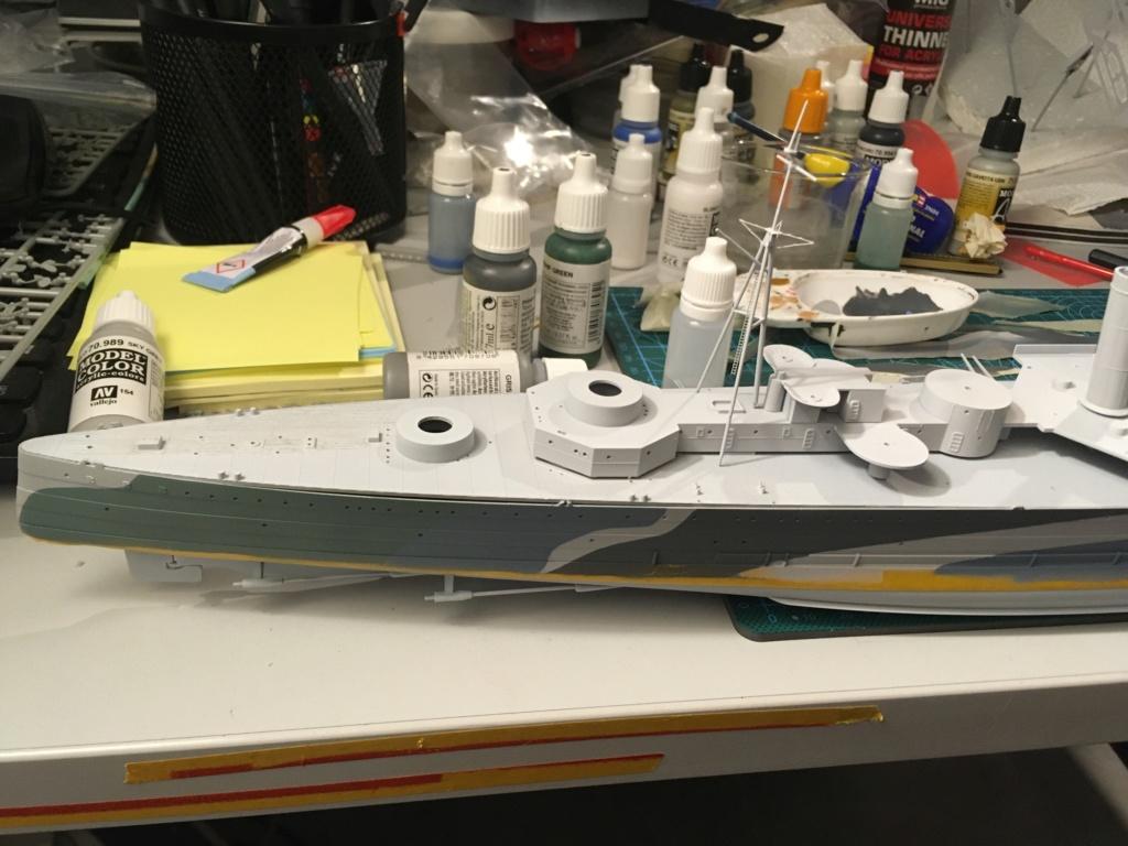 Croiseur lourd HMS Kent - 1/350 - Trumpeter - Eric78 - Page 2 7d0d8210