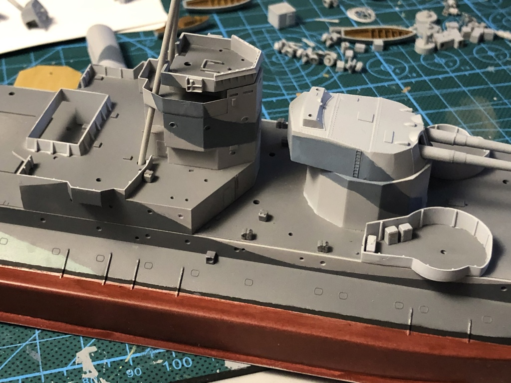 HMS Abercrombie Monitor - 1/350 Trumpeter - Eric78 81a59d10