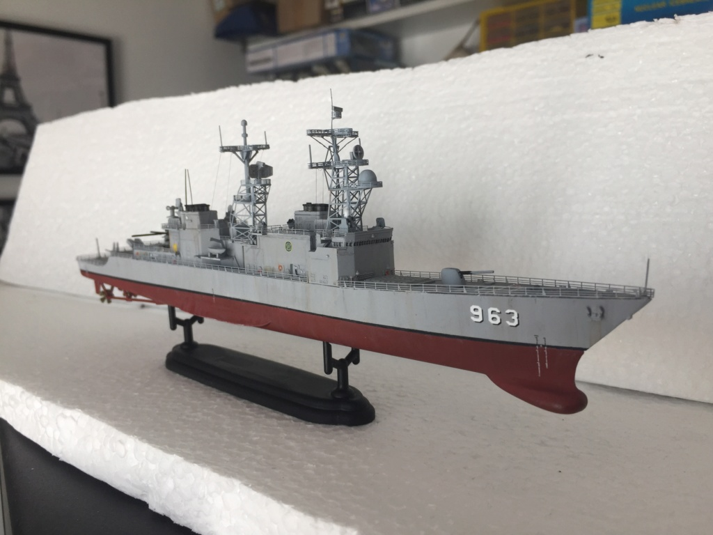 Destroyer USS Spruance DD963 - 1/700 Dragon  - Page 2 8fe13910