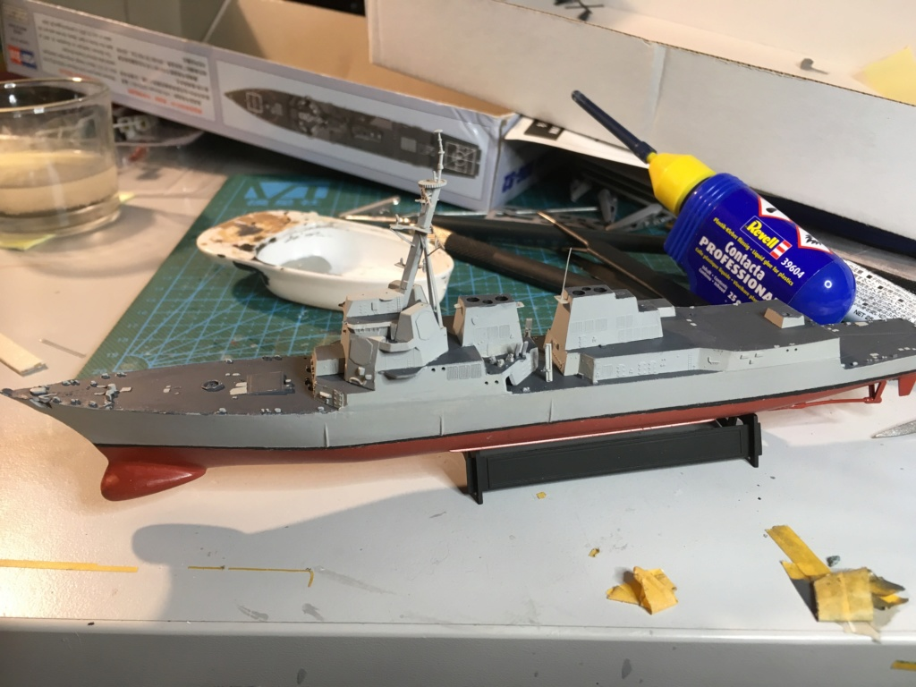 Destroyer USS Momsen DDG-92 -Hobbyboss 1/700 95636010