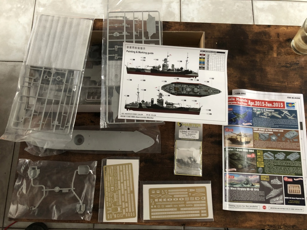 HMS Abercrombie Monitor - 1/350 Trumpeter - Eric78 9bef8610