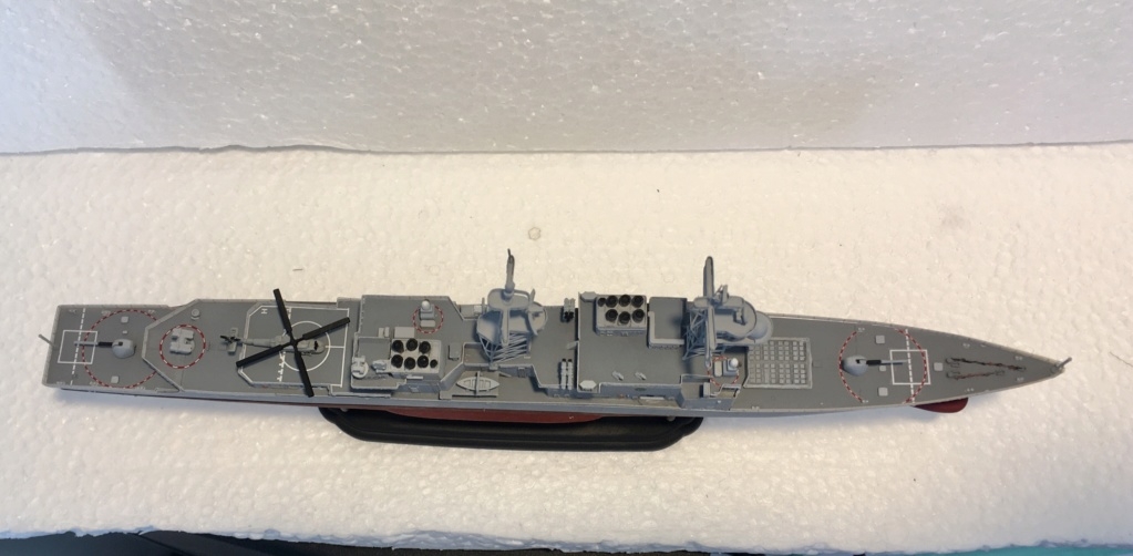 Destroyer USS Spruance DD963 - 1/700 Dragon  Adff0c10