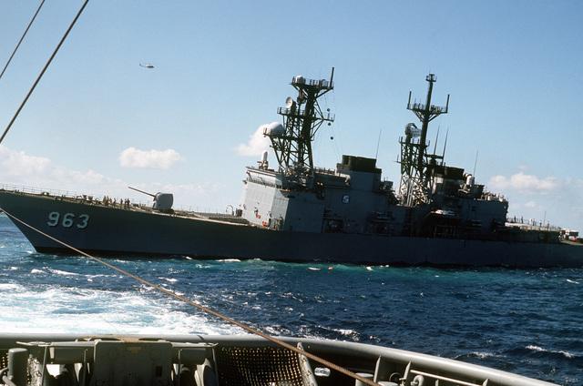 Destroyer USS Spruance DD963 - 1/700 Dragon  B085b110