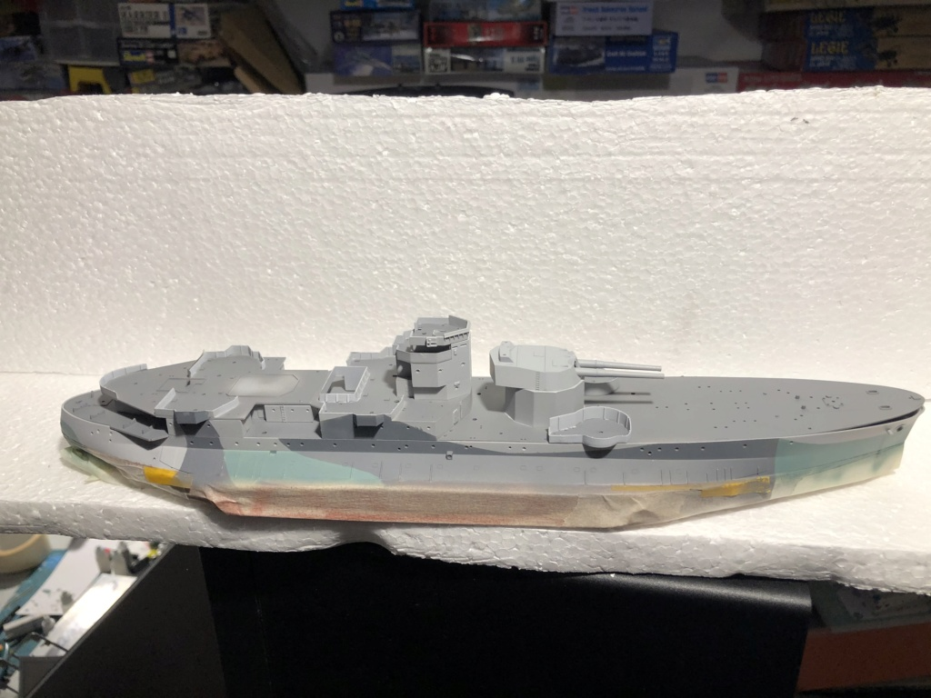 HMS Abercrombie Monitor - 1/350 Trumpeter - Eric78 B1bf6510