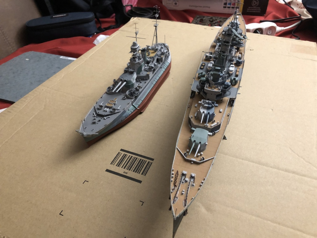 HMS Abercrombie Monitor - 1/350 Trumpeter - Eric78 - Page 2 B693b610