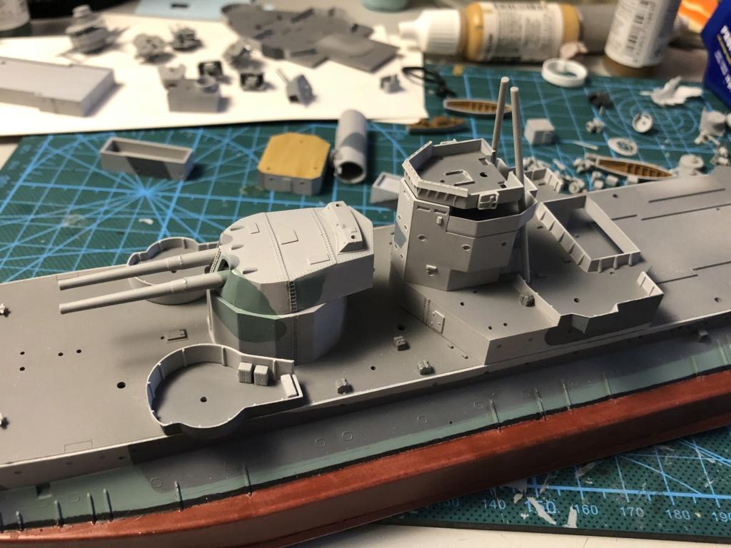 HMS Abercrombie Monitor - 1/350 Trumpeter - Eric78 B6ad6010