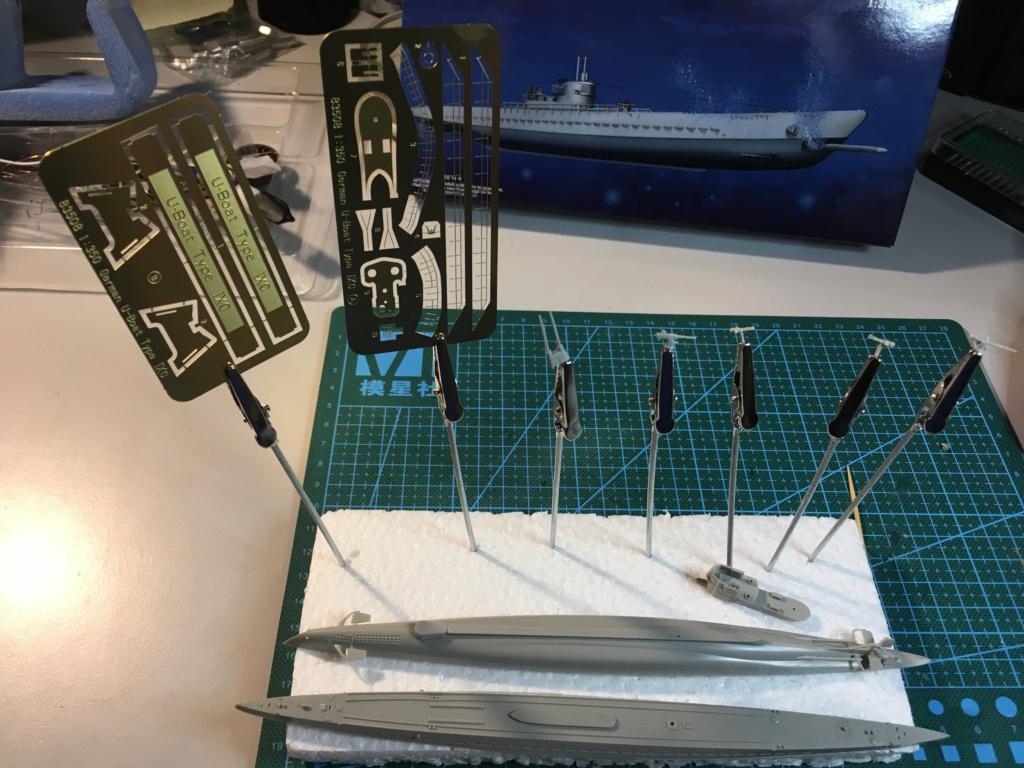 U-Boat Type IX - Hobbyboss 1/350 Bd813310