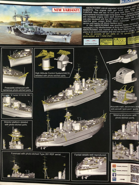 HMS Abercrombie Monitor - 1/350 Trumpeter - Eric78 Bd9ec910
