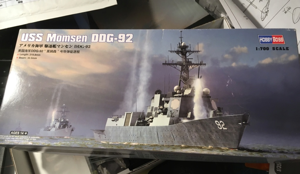 Destroyer USS Momsen DDG-92 -Hobbyboss 1/700 C31ef410