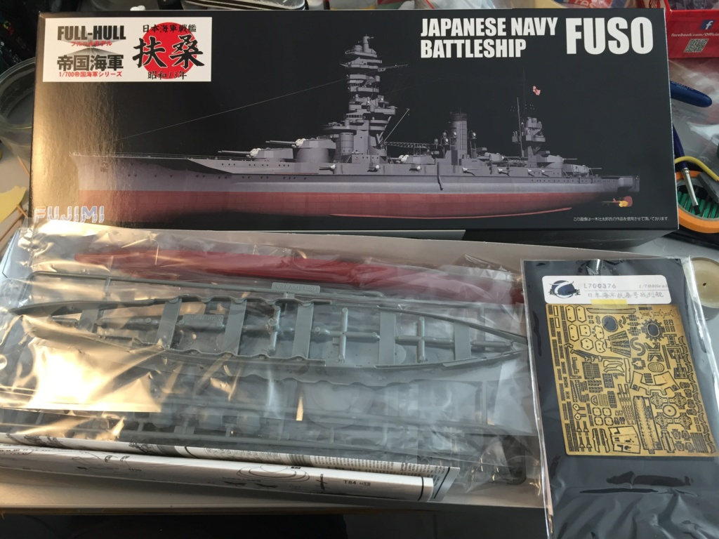 Cuirassé fuso 1/700 fujimi - Eric78 C4002610