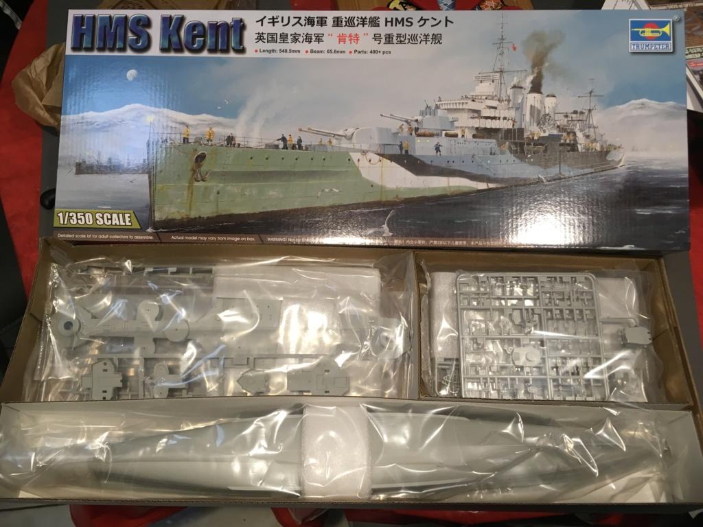 HMS Kent 1/350 Trumpeter C6679510