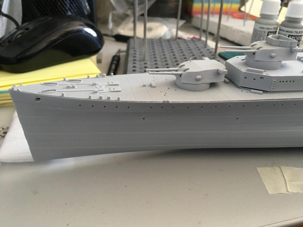 Croiseur lourd HMS Kent - 1/350 - Trumpeter - Eric78 Cffe8810