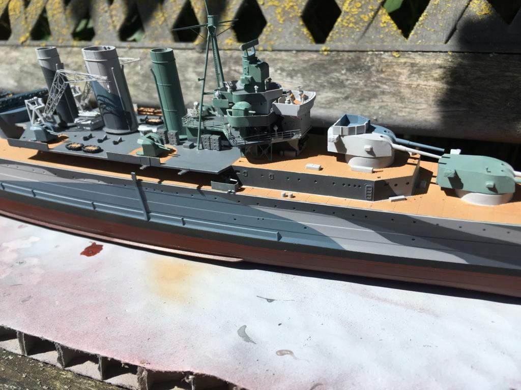 Croiseur lourd HMS Kent - 1/350 - Trumpeter - Eric78 - Page 2 D1a2df10