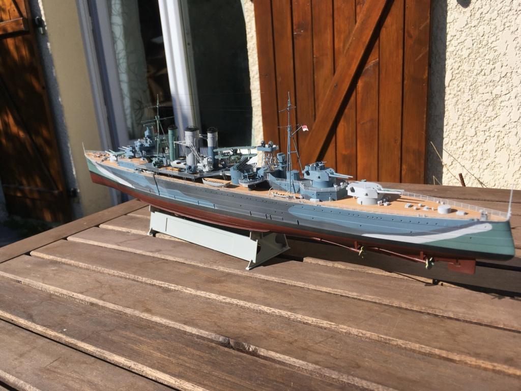 Croiseur lourd HMS Kent - 1/350 - Trumpeter - Eric78 - Page 3 D59f6510