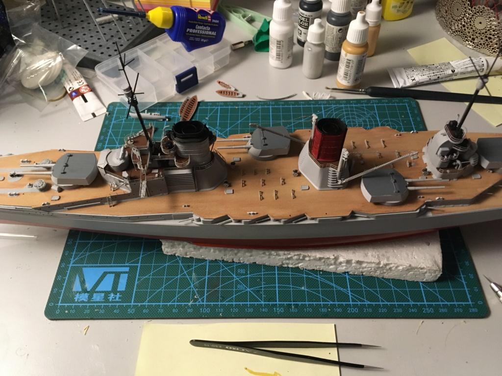 Croiseur de bataille SMS Seydlitz 1/350 Hobby Boss  - Page 3 Ddcbce10