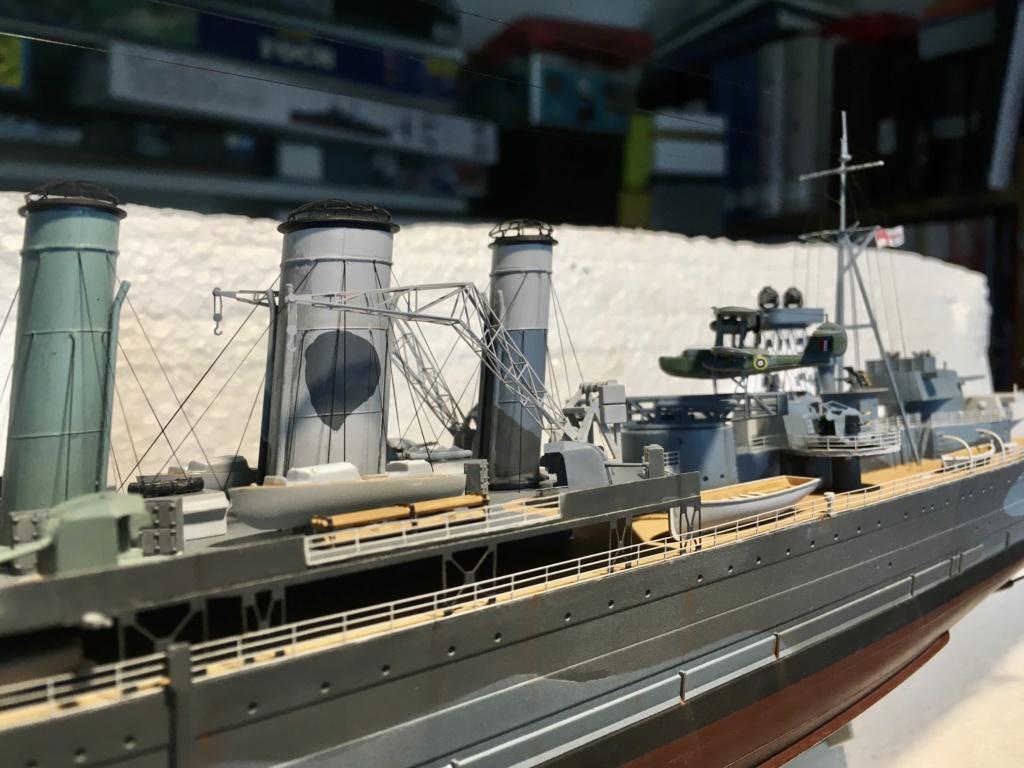 Croiseur lourd HMS Kent - 1/350 - Trumpeter - Eric78 - Page 3 Df866d10