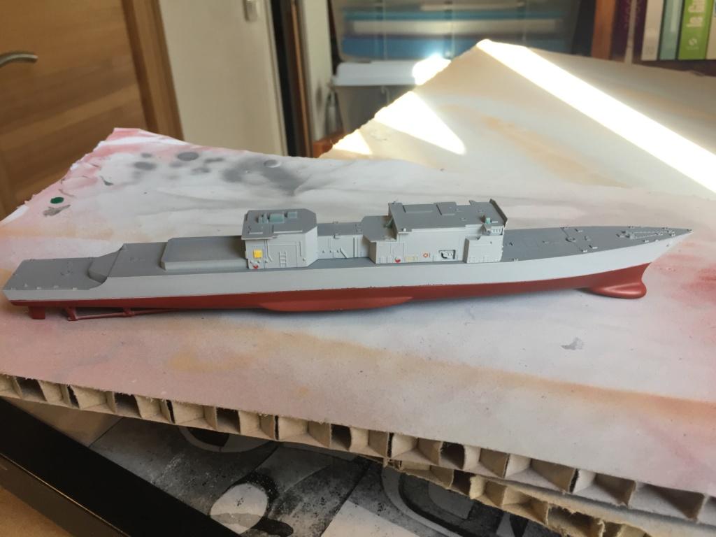 Destroyer USS Spruance DD963 - 1/700 Dragon  E798c310