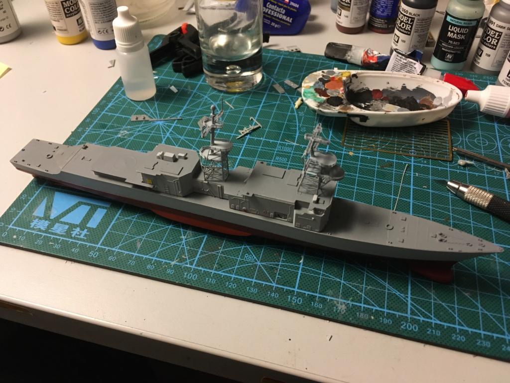 Destroyer USS Spruance DD963 - 1/700 Dragon  F35c9010