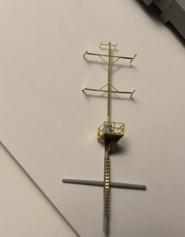 HMS Abercrombie Monitor - 1/350 Trumpeter - Eric78 Fa070710