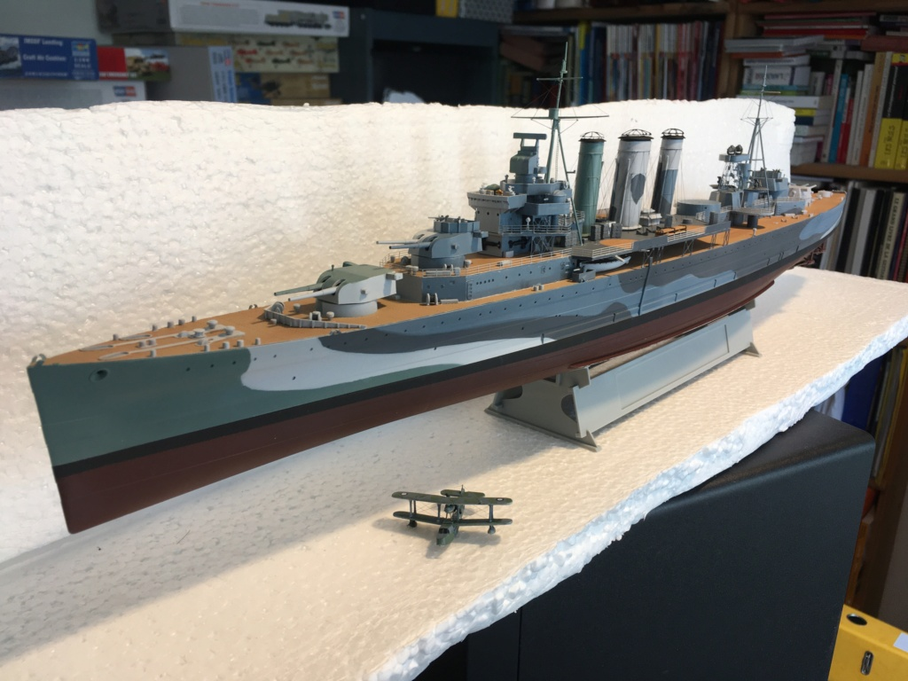 Croiseur lourd HMS Kent - 1/350 - Trumpeter - Eric78 - Page 3 Fb625910