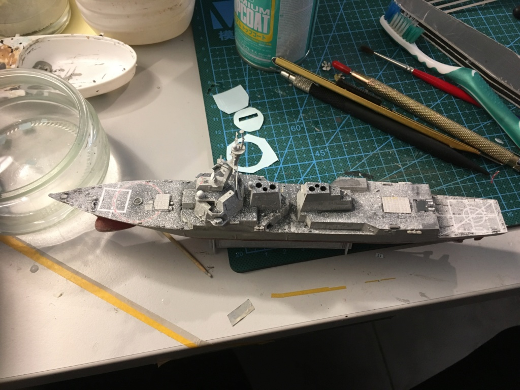 Destroyer USS Momsen DDG-92 -Hobbyboss 1/700 Fe37a310