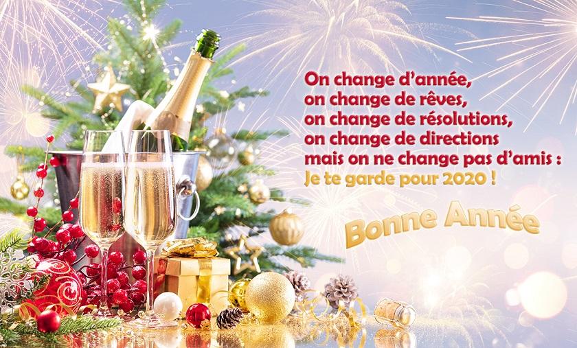 Nos meilleurs vœux pour la nouvelle année. Texte-10