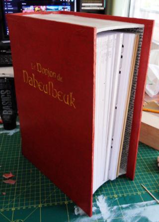 Construire une boîte en forme de livre 1510