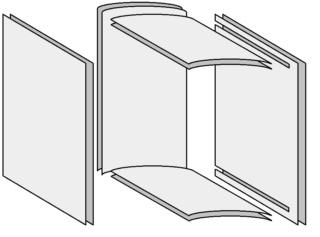 Construire une boîte en forme de livre 1810