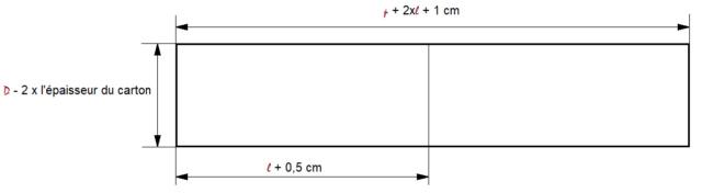 Construire une boîte en forme de livre 2510