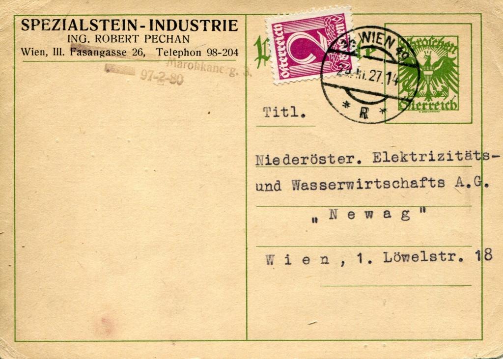 Bedarfspost Ganzsachen Österreich 1925-1938 - Seite 2 Bedard10