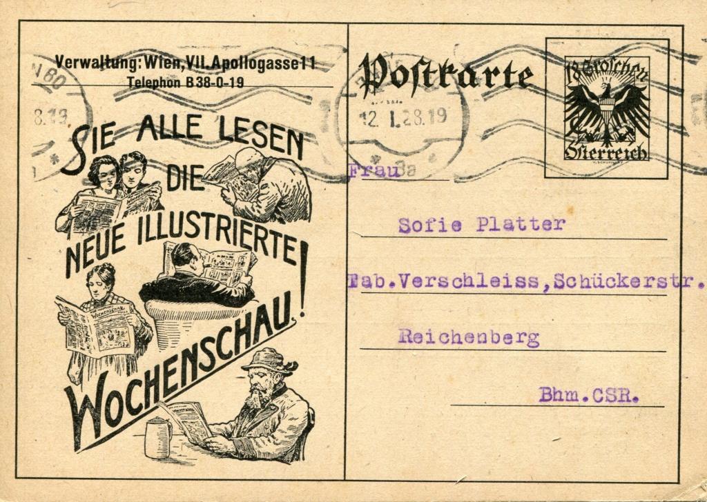 Bedarfspost Ganzsachen Österreich 1925-1938 - Seite 2 Bedard12