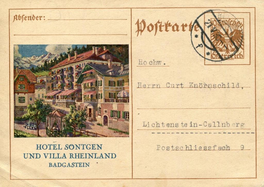 Bedarfspost Ganzsachen Österreich 1925-1938 - Seite 2 Bedard14