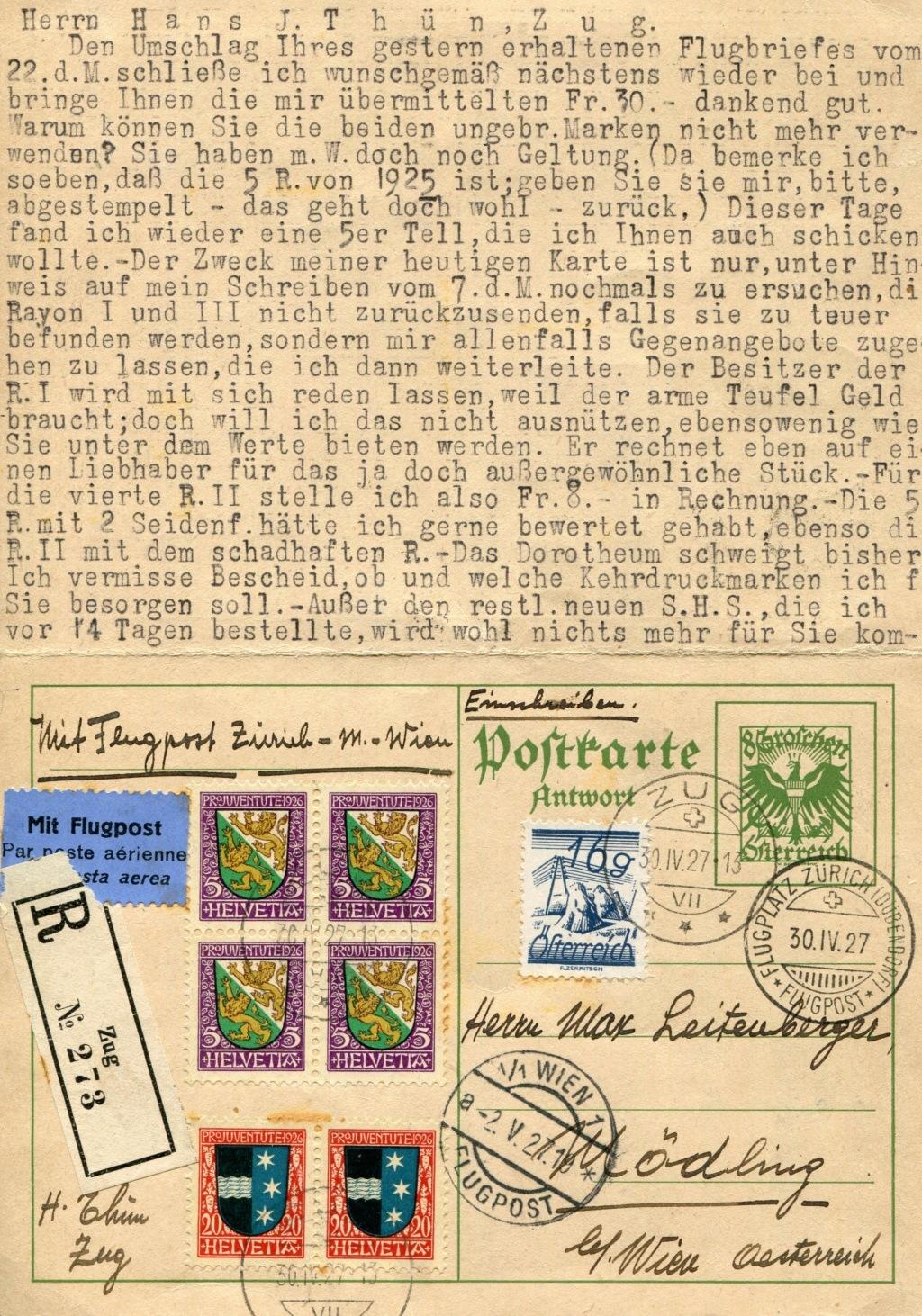 Bedarfspost Ganzsachen Österreich 1925-1938 - Seite 2 Bedard22