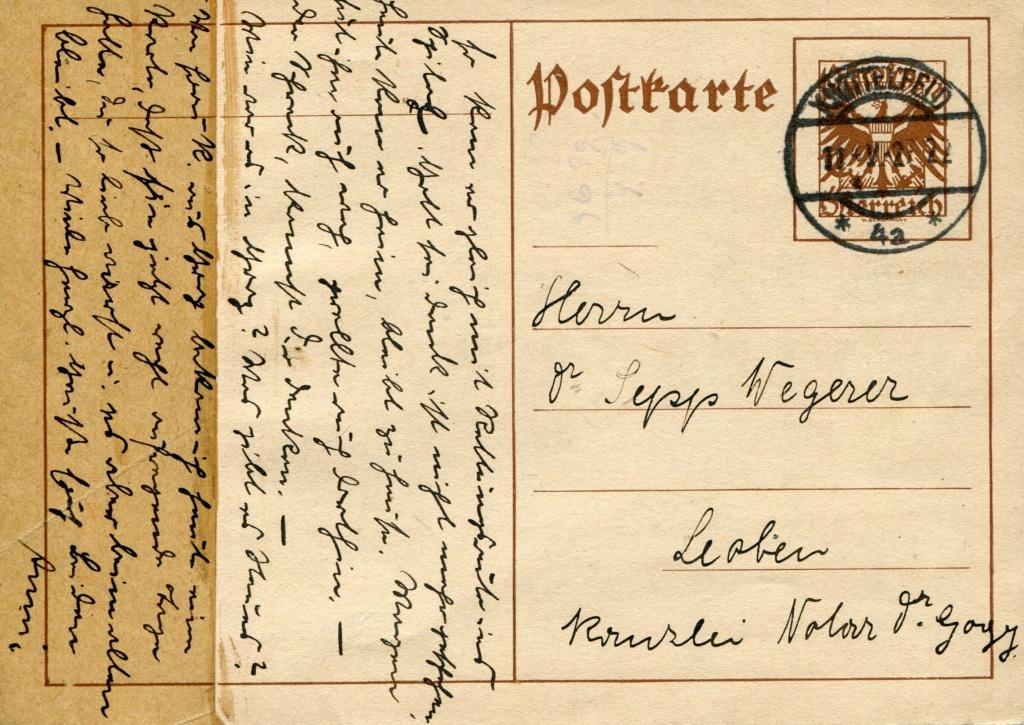 Bedarfspost Ganzsachen Österreich 1925-1938 - Seite 2 Bedard25