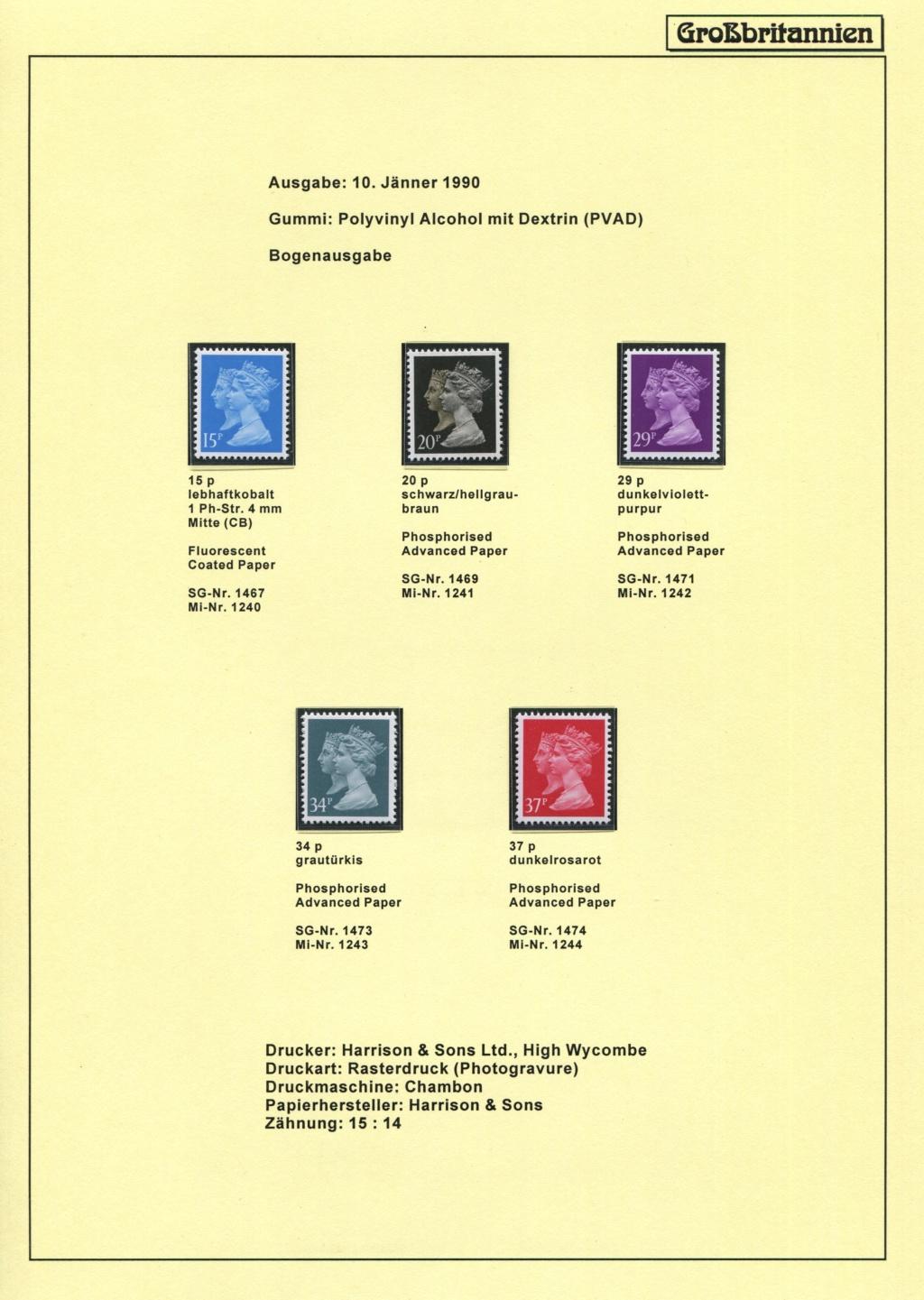 Großbritannien - 150 Jahre Briefmarken Black_14