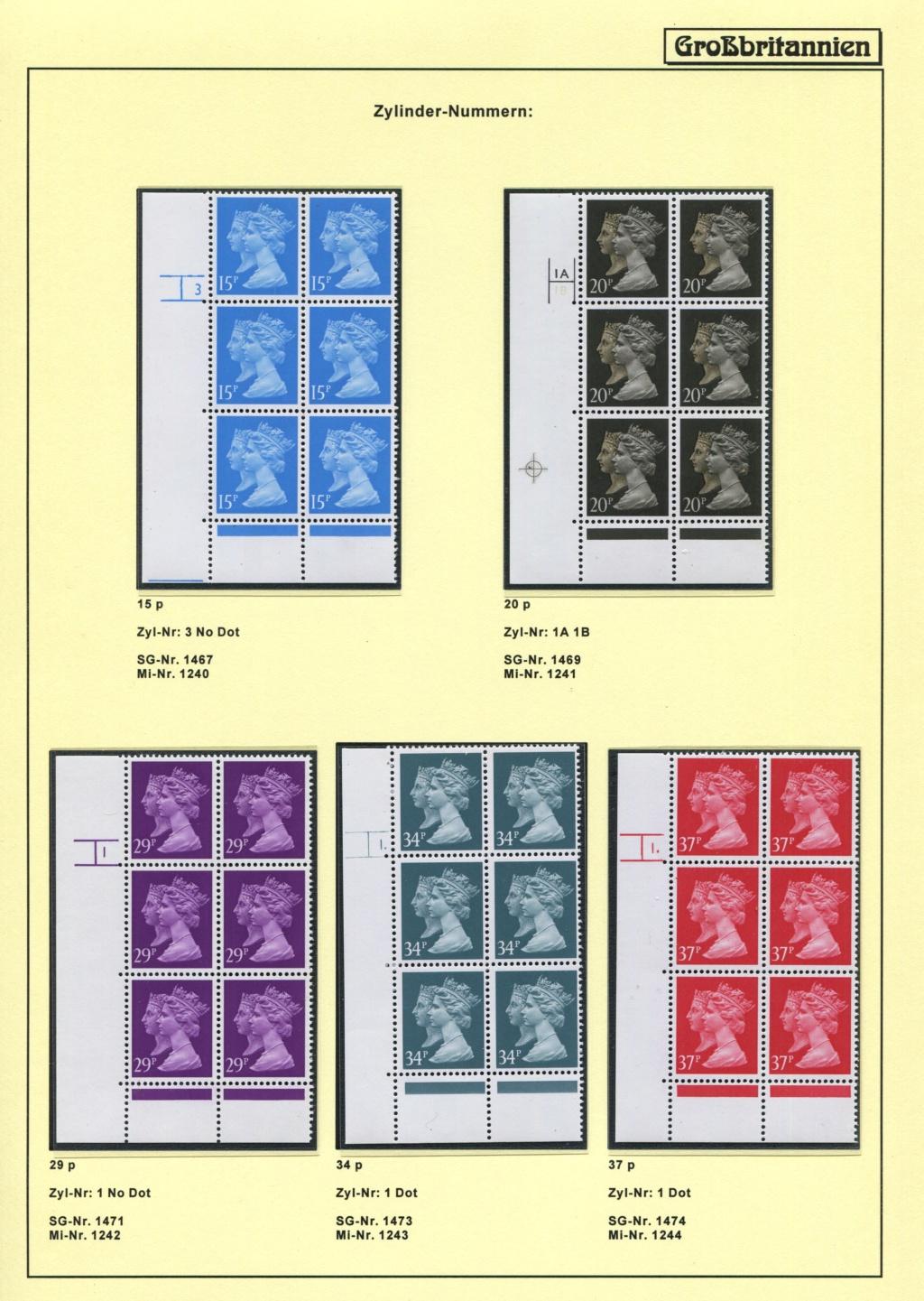 Großbritannien - 150 Jahre Briefmarken Black_15