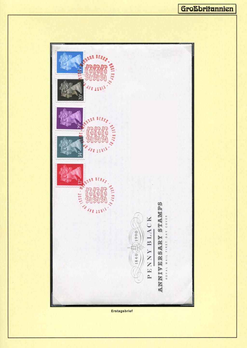 Großbritannien - 150 Jahre Briefmarken Black_16