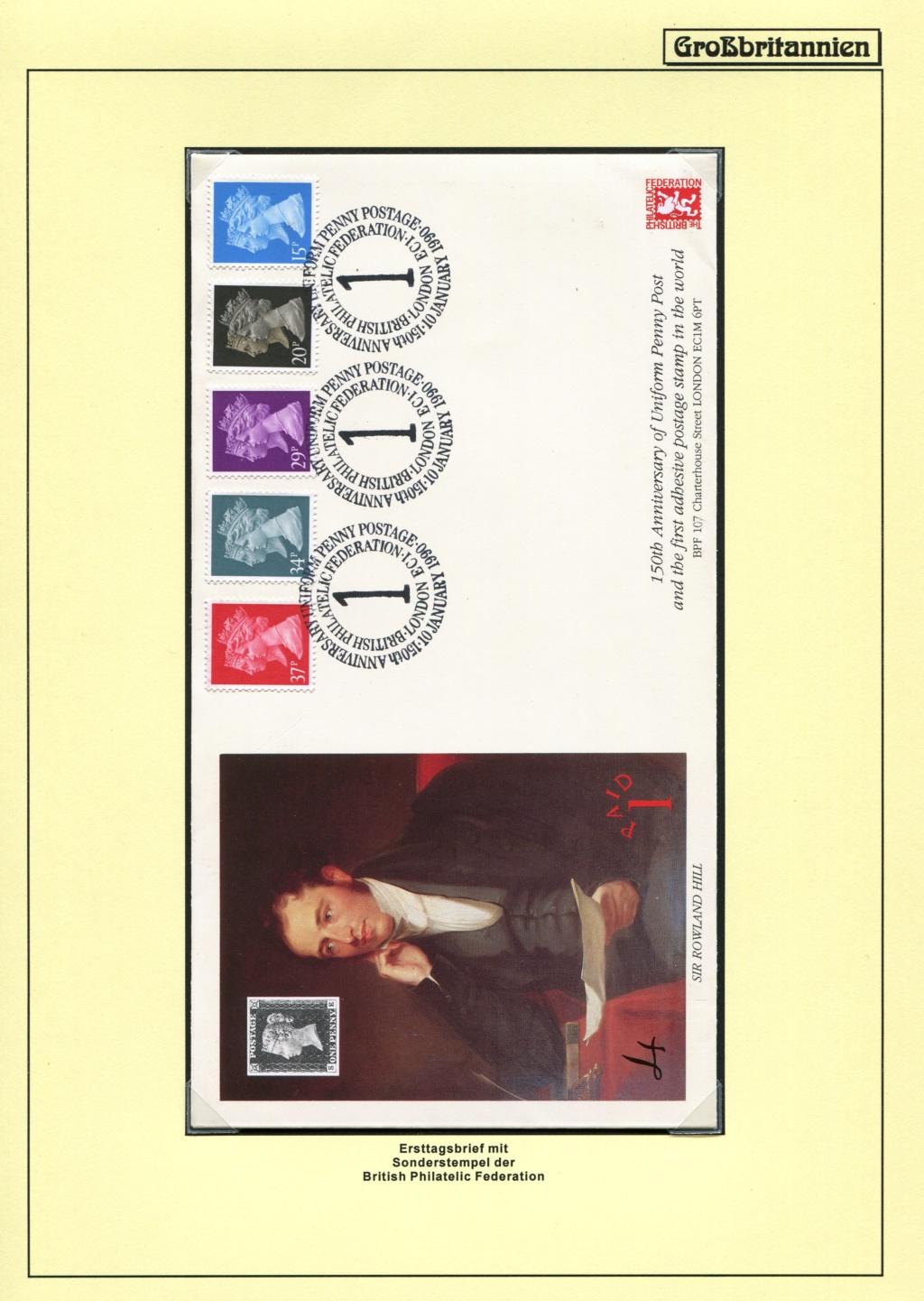 Großbritannien - 150 Jahre Briefmarken Black_17