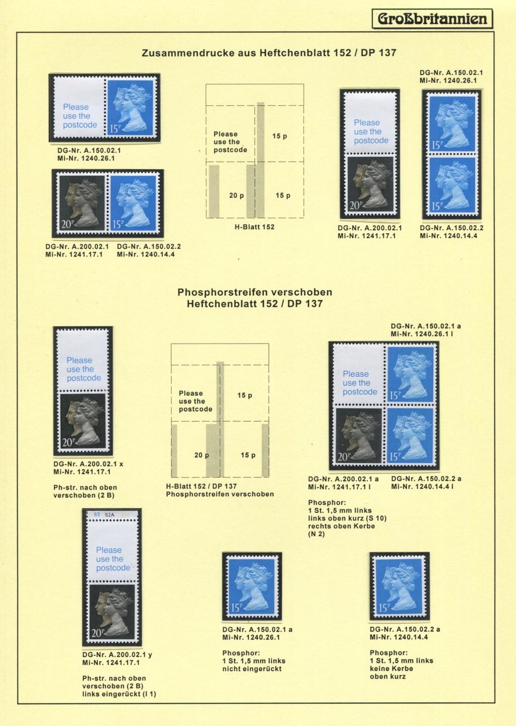 Großbritannien - 150 Jahre Briefmarken Black_19