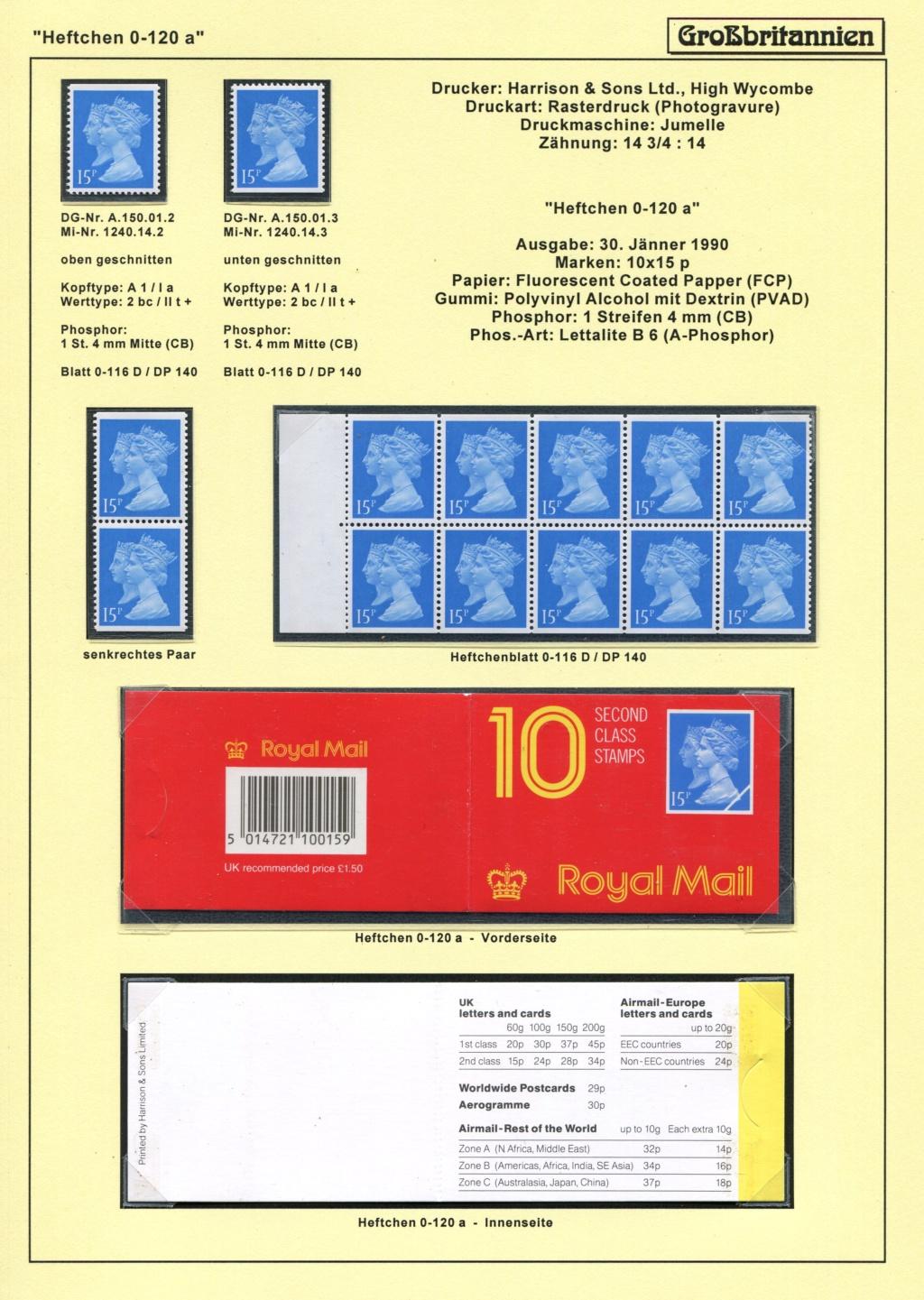 Großbritannien - 150 Jahre Briefmarken Black_20