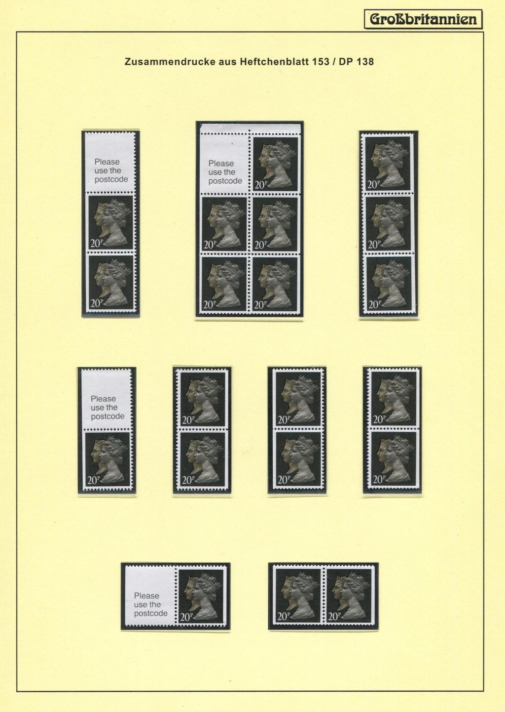 Großbritannien - 150 Jahre Briefmarken Black_28