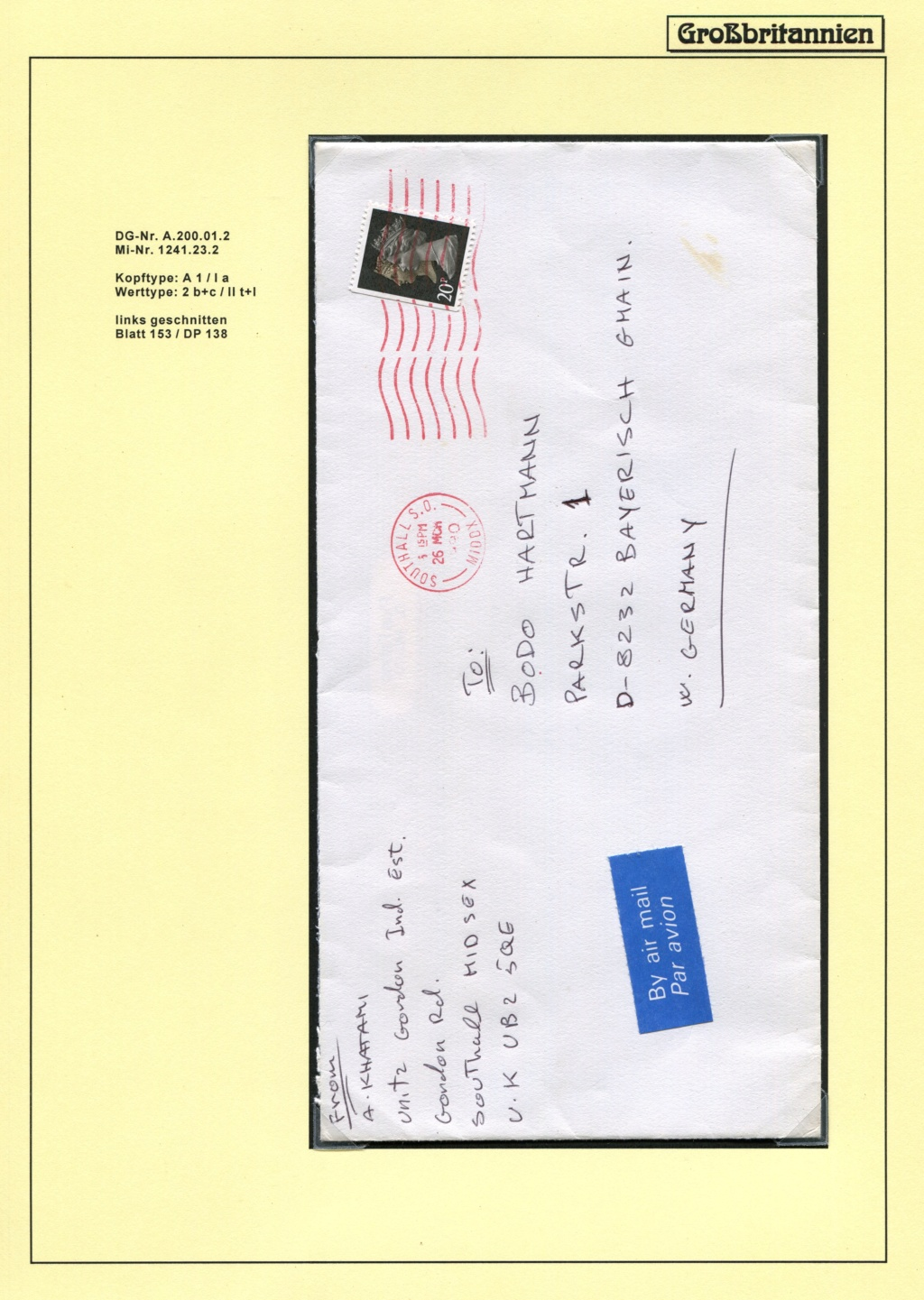 Großbritannien - 150 Jahre Briefmarken Black_29