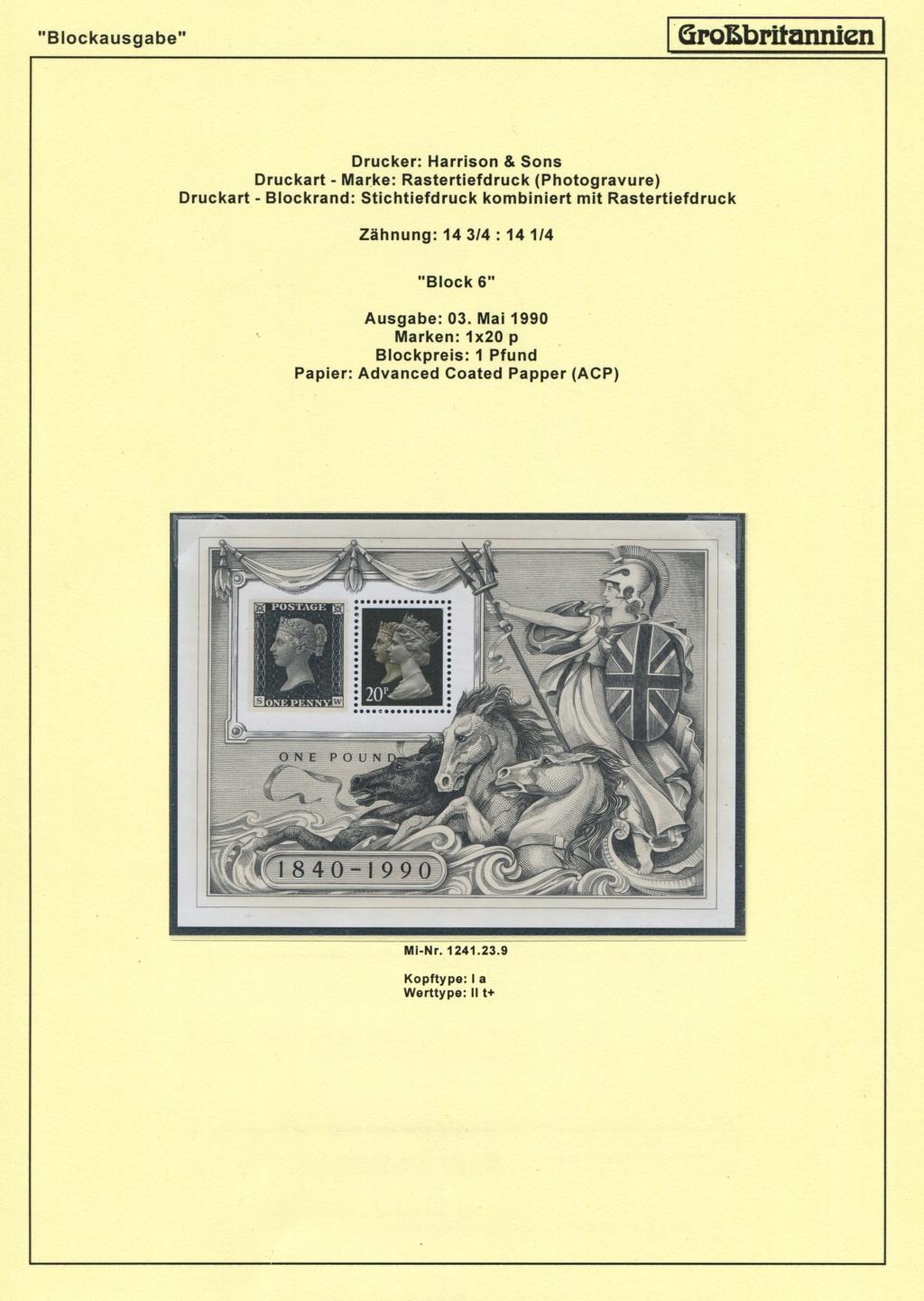 Großbritannien - 150 Jahre Briefmarken Black_30