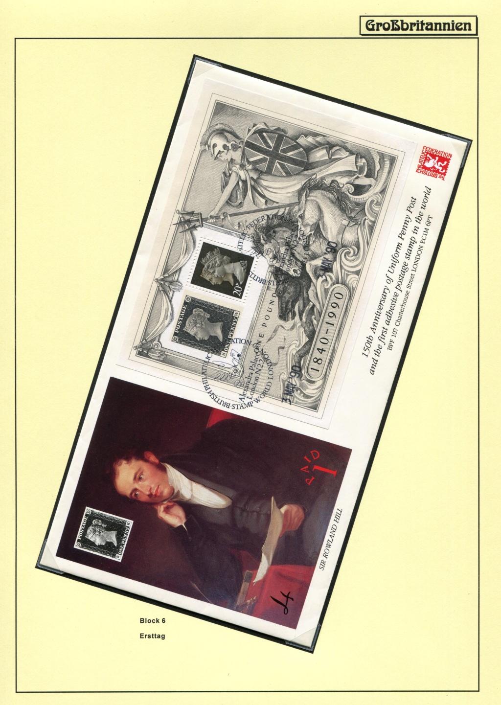 Großbritannien - 150 Jahre Briefmarken Black_33