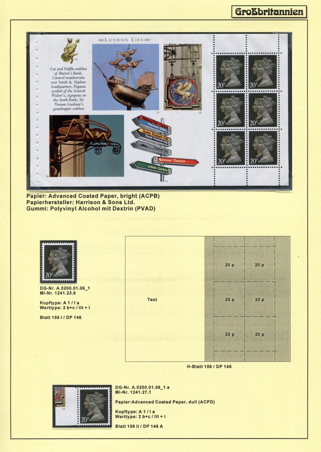 Großbritannien - 150 Jahre Briefmarken Black_34