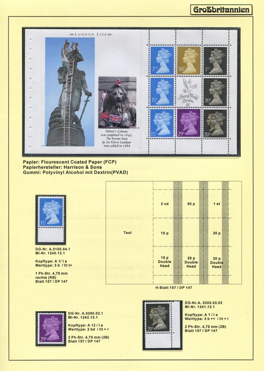 Großbritannien - 150 Jahre Briefmarken Black_35